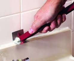silicon caulk remove silicone caulk how to remove old caulk from your bathtub or sink silicone caulk remover menards