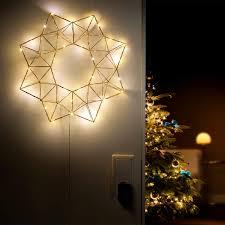 Weihnachtsbeleuchtung Pyramiden Lichtsternled Dekoleuchte