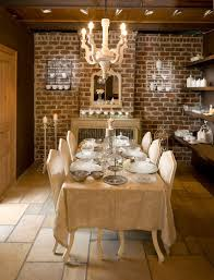 Dining Room Kitchen 50 Bold And Inventive Dining Rooms With Brick Walls
