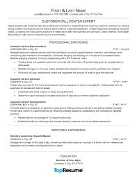 Examples Of Problem Solving Skills In Customer Service Resume Call Center Resume Sample Professional Examples