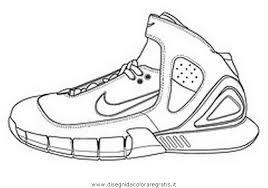 Disegno Nike1 Misti Da Colorare