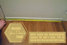slide on door weather stripping measure your door to see how much weatherstripping need sliding screen