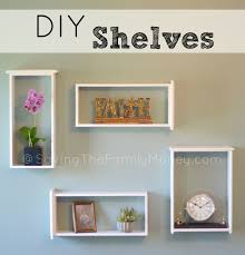 Diy Shelves Unique And Affordable Homemade Shelves Making Shelves Diy