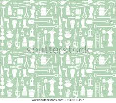 Small Picture Vector Set Gardening Tools Agriculture Equipment Stock Vector