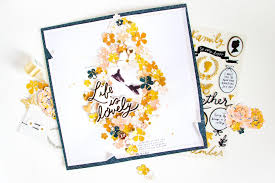 Fun Way To Use Scrapbook Paper Scraps Maggie Holmes Design