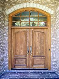 double front doorsWooden Double Front Exterior Entry Doors Wood