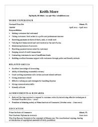Cashier Duties And Responsibilities Resume It Resumes And Duties