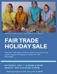 Christ Of Light Church Cherry Hill Nj Fair Trade Holiday Sale At Christ Our Light Diocese Of Camden
