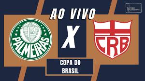 🔴 COPA DO BRASIL - PALMEIRAS X CRB - AO VIVO - 09/06/2021 - Ulisses Costa e  Cláudio Zaidan - YouTube
