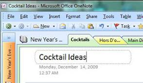 Microsoft Recipes Use Microsoft Onenote To Store And Organize Your Recipes