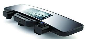 jumbl car rear view mirror dual camera hd 1080p dash cam 3 5