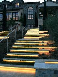 outdoor stairs lighting. Outdoor Stair Lights Solar Led Step Lighting Ideas For A Romantic Look Of Your . Stairs