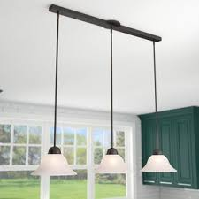 Pendant lighting fixtures kitchen Island Pendant Quickview Wayfair Kitchen Island Lighting Youll Love Wayfair