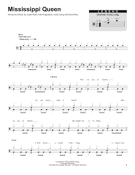 Mississippi Queen By Mountain Piano Vocal Guitar Right Hand Melody Digital Sheet Music