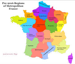 customizable maps of france and the new french regions  geocurrents