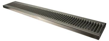 30 x5 x3 4 premium stainless steel surface mount with drain drip tray