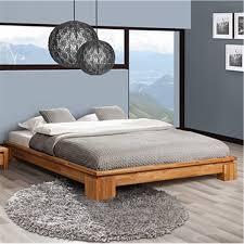 Delaware Solid Wood Platform Bed Frame Low Profile Full ...