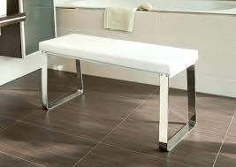 Badezimmer Sitzbank Ebenerdige Dusche Grau Weiss Sitzbank Gemauert