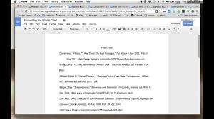 Google Docs Example Of Research Paper Setup