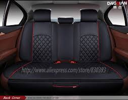 new 3d sport car seat cover general cushion senior leather car covers car styling for bmw