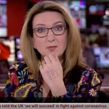 Victoria derbyshire is set to take part in this year's i'm a celebrity… get me out of here! Victoria Derbyshire Presents Bbc News With Helpline On Her Hand