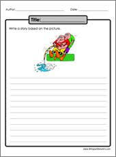 Practice writing an essay from a picture  Dentist Toothache   Printable  contains a quick Pinterest