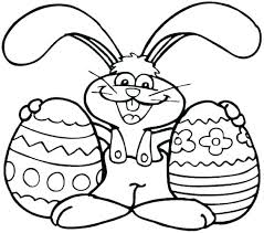 Bunny Coloring Page For Preschool Cute Printable Coloring Pages Cute