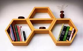 back to honeycomb shelves book storage ideas