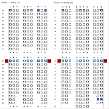Wow Air Seating Chart Bas 10 Abreast Economy Boeing 777 At Gatwick In 2018