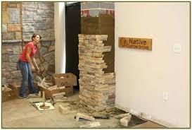 diy interior faux stone wall texture plus innovative panels interior faux stone wall treatments