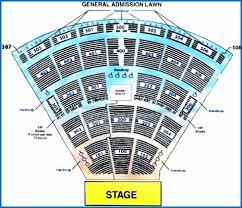 Verizon Amphitheater Seating Chart Luxury Pnc Music Pavilion