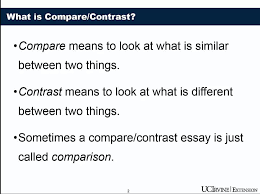 compare contrast essay video lecture writing compare contrast  compare contrast essay video lecture writing compare contrast essays coursera