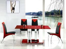 Red dining table set Contemporary Red Dining Table And Chairs Impressive With Images Of Interior In Room Set Modern Red Dining Chairs Room Hashook Black And White Dining Tables Red Table Set Mats Npedal