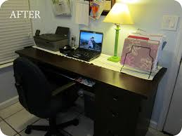 furniture spray painttime to clean up your desk  plus diy furniture spray painting