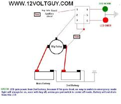 how to wire dual batteries isolator battery selector switch report this image