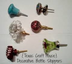 How To Make Decorative Wine Bottle Stoppers Drawer Pulls as Decorative Bottle Stoppers Texas Craft House 20