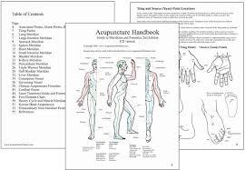 Korean Acupressure Chart Chinese And Korean Hand Acupuncture Chart 8 Korean