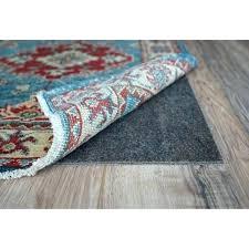 non slip rug pad felt rubber 1 8 inch thick nonslip 7 carpet home depot support