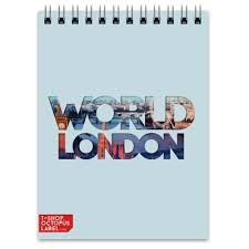"<b>Блокнот</b> ""<b>DIFFERENT WORLD</b>"": London #1323566"