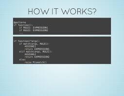Python Pattern Matching