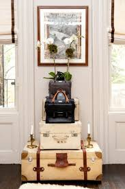 Following are a lot of great ideas using vintage luggage in your decorating.  Hope you're inspired and enjoy!