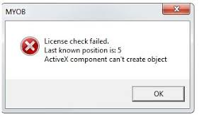 Check Ledgers Error When Trying To Access Ast Ledger In System Myob Community