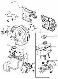 jk wrangler master cylinder and brake booster parts 4 wheel parts