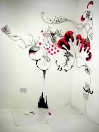 Wall painting empty room