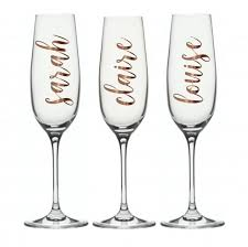 diy bridal party glass decal vinyl labels wedding labels and decals personalised vinyl labels stemeless wine glass champagne flute 2832132