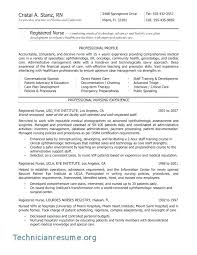 Nursing Resume Samples – Universitypress