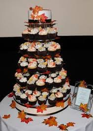 fall wedding cupcakes. Beautiful Cupcakes Fall Wedding Cupcake Tower  Flickr  Photo Sharing In Cupcakes