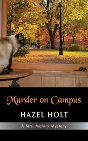 hazel holt - murder on campus - AbeBooks