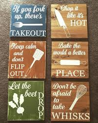 wooden signs for kitchen chop it like its hot funny kitchen signs kitchen decor rustic decor wooden signs