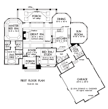 first floor plan of the rowan house floor plan 1366
